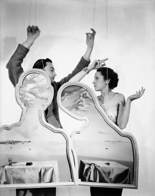Dalí y Gala. Foto: The Cecil Beaton Studio Archive at Sotheby's